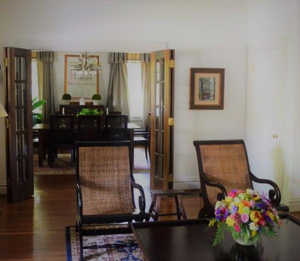 Formal room