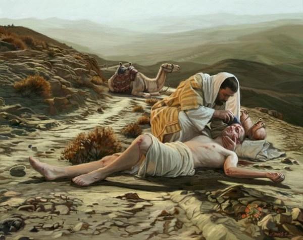 Good Samaritan, Christians and Refugees, Walking in the Faith