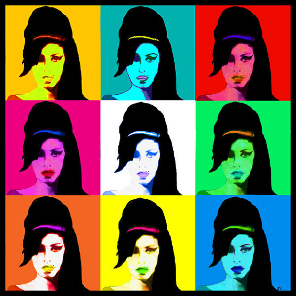 Amy Winehouse 3x3