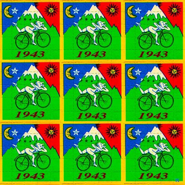 Bicycle Day - 3 X 3