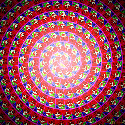 Bicycle Day Red-Spiral-Spherical