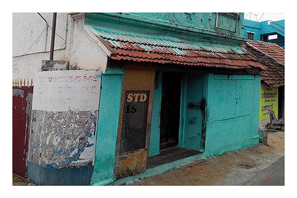 Little green shop (Kerala, India)