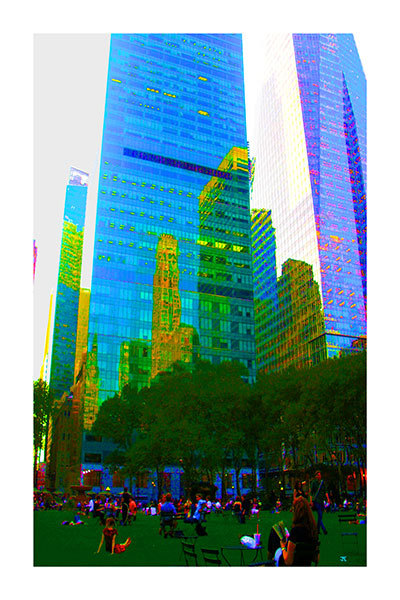 Reflections (Bryant Park, NYC)