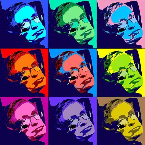 Stephen Hawking - 3x3