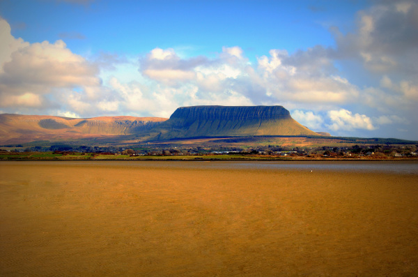 Land of Fairy. Benbulben, County Sligo. Ireland.