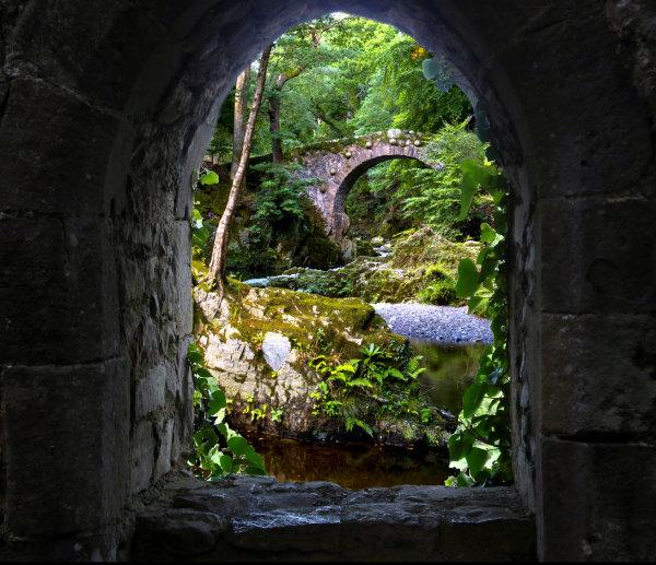 Through The Castle Window.