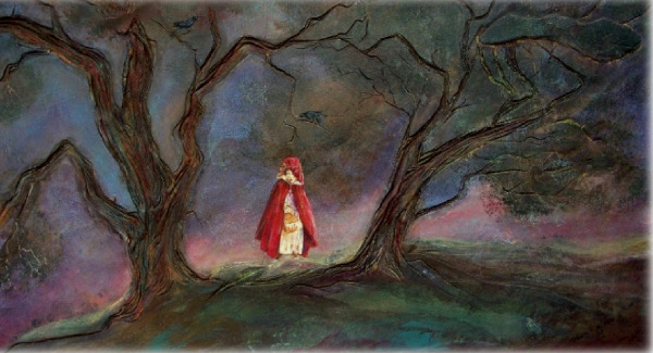 The Dark Forest. Red Riding Hoo