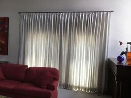 Euro pleat drapes