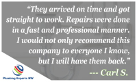 Reviews of Plumbing Service in Everett