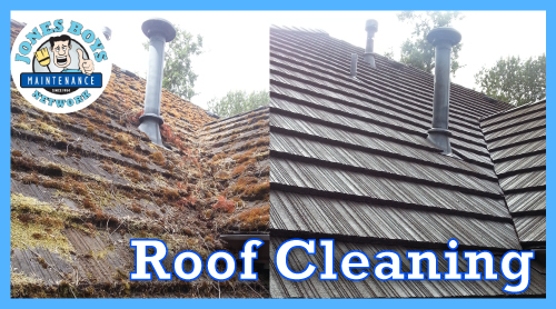 Jones Boys Roof Cleaning Discount