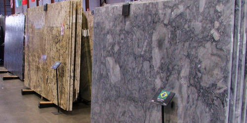 Granite Slab Selection