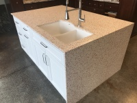 Custom Quartz Countertop Installation