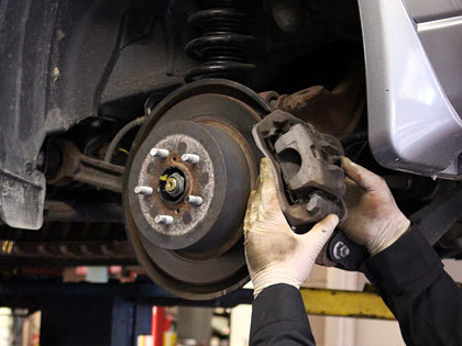 Don't Take Chances with Worn or Faulty Brakes.