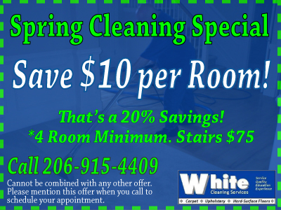 Carpet Cleaning Coupon Seattle