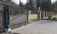 Rolling Steel Security Gates