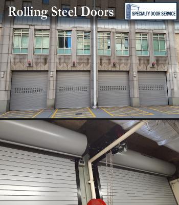 Seattle Rolling Steel Shop Doors