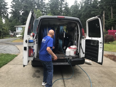 Carpet Extraction is Great. A Truck-Mounted Carpet Extraction is BEST!