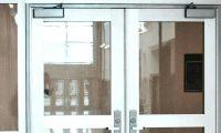 Aluminum pedestrian doors Edmonds