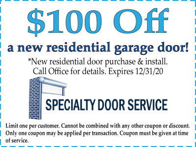 New Garage Door Coupons Discounts