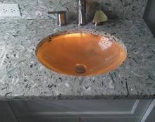 Recycled Beach Glass Countertops in Sarasota and Venice FL