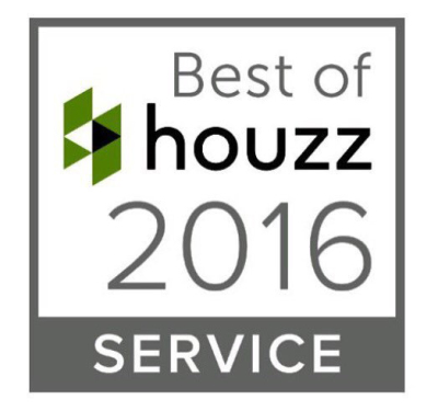 Awarded Best of Houzz in 2016 for best of Service in Sarasota Florida