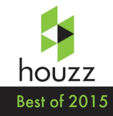 Awarded best of Houzz in 2015 for the highest level of customer satisfaction