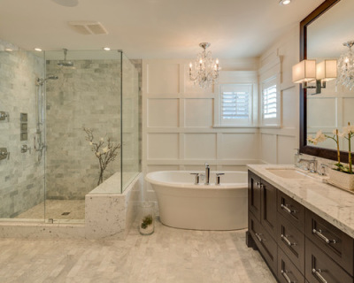 We specialize in complete bathroom make-overs and renovations with new vanity cabinets and a new user friendly walk-in shower and wall tile. James Anderson is one of the only Board Certified Bathroom remodel Contractors in Sarasota, Venice, Longboat Key, Siesta Key, Lakewood Ranch, Bradenton, Englewood, North Port, Port Charlotte, In your area, In my area, Florida