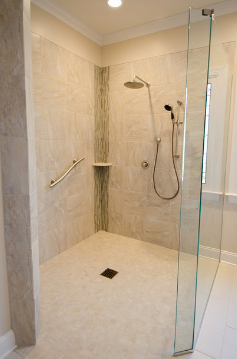 We build ADA compliant accessible showers and bathrooms. A tub to shower makeover can make any disability much easier and safer with ageing in place home remodeling. A handicap shower remodel with ease of access to the shower can be custom made to your existing home or condo in Sarasota, Venice, Siesta Key, Longboat Key, Lakewood Ranch, Bradenton, Nokomis, Osprey, Englewood, North Port, Port Charlotte, in your area, In my area, Florida.