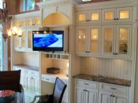 Custom made TV cabinets Longboat Key FL Bay Isles