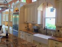 Custom made Farm sink cabinet Longboat Key FL