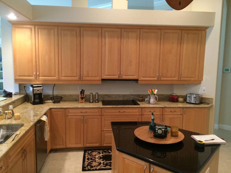 Kitchen remodel in Venice FL.