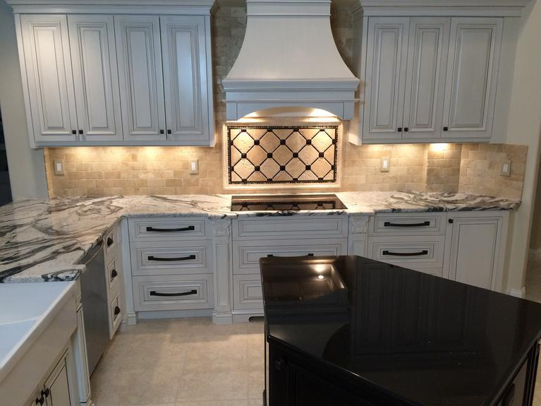 Custom made kitchen cabinets in Venice Florida