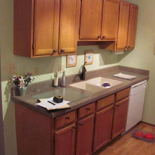 Before - Kitchen remodel Siesta Key Florida, White Sands Condo.