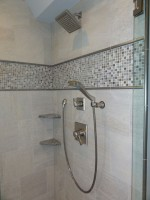 Shower remodel makeover in Siesta Key
