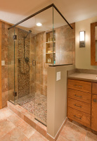 Shower remodel in Lakewood Ranch FL.