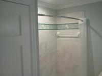 Bathtub shower combination and tile renovation on Siesta Key, FL
