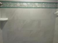 Glass Listello shower trim