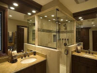 Complete bathroom remodel in Venice FL.