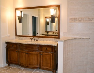 Bathroom remodel in Lakewood Ranch Florida