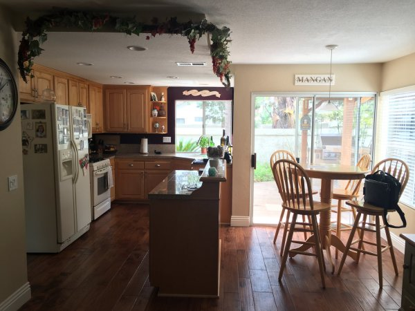 Kitchen renovation before in Sarasota