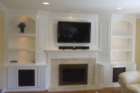 """Custom made Media Center and TV Cabinet makers Sarasota FL"""