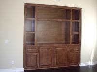"""Custom made home Entertainment Center Cabinets Longboat Key FL""."