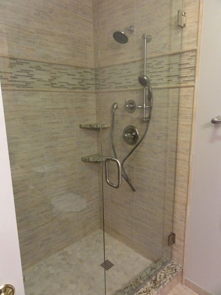 Shower remodel Siesta Key Florida