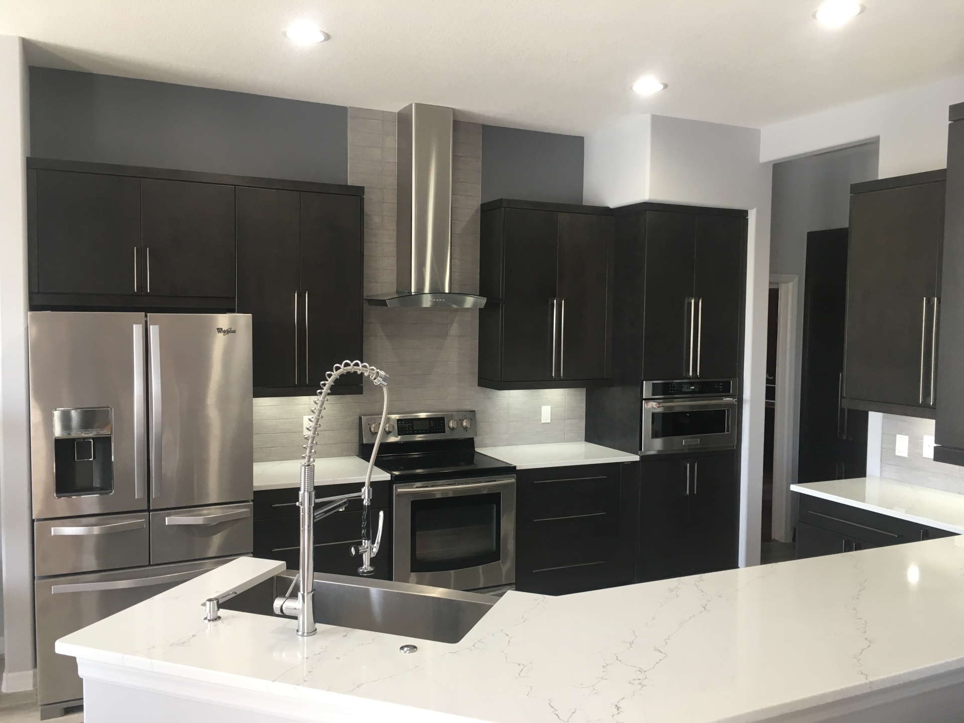 Custom made kitchen cabinets in Sarasota.