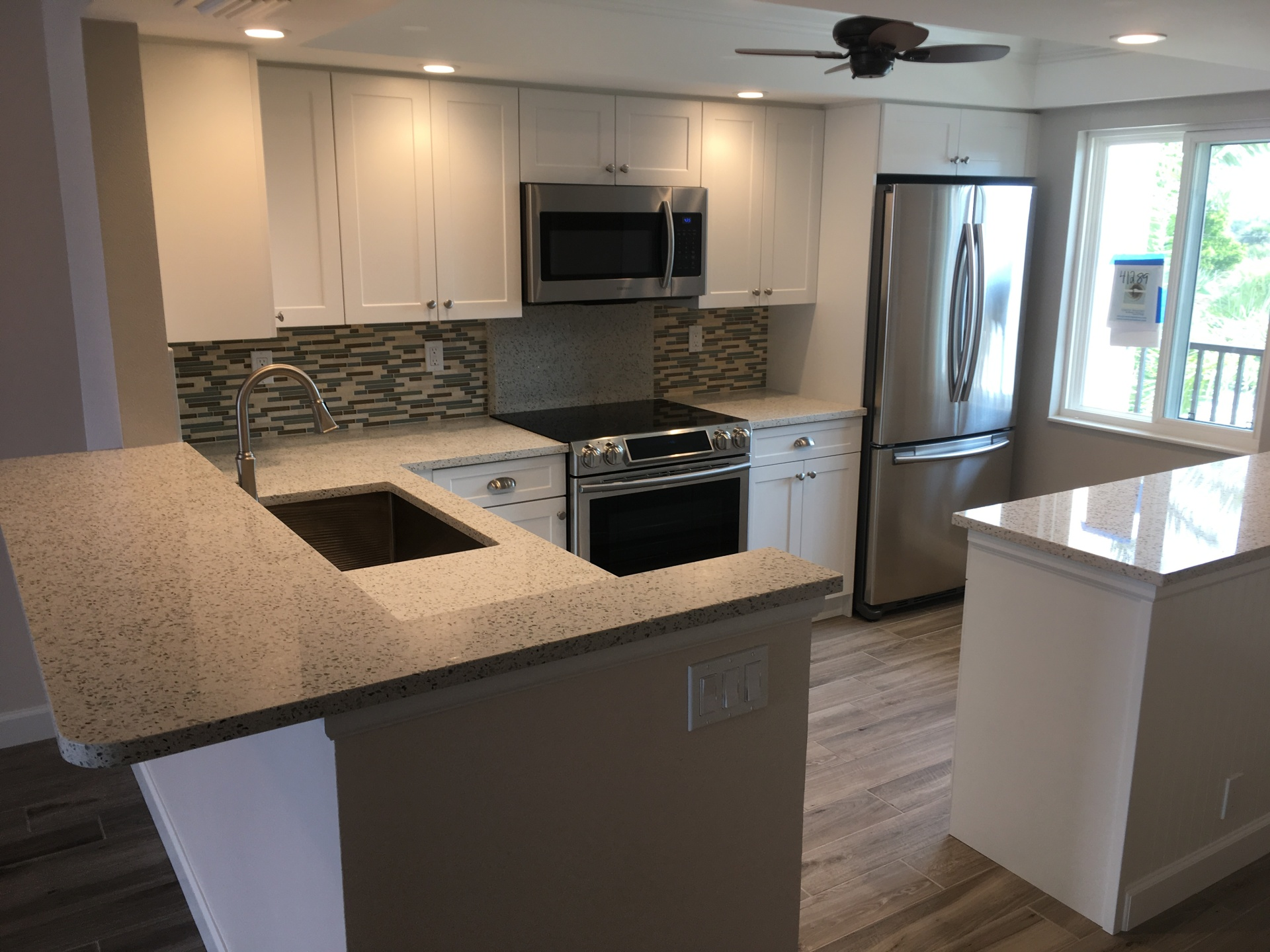 Beach condo kitchen remodel