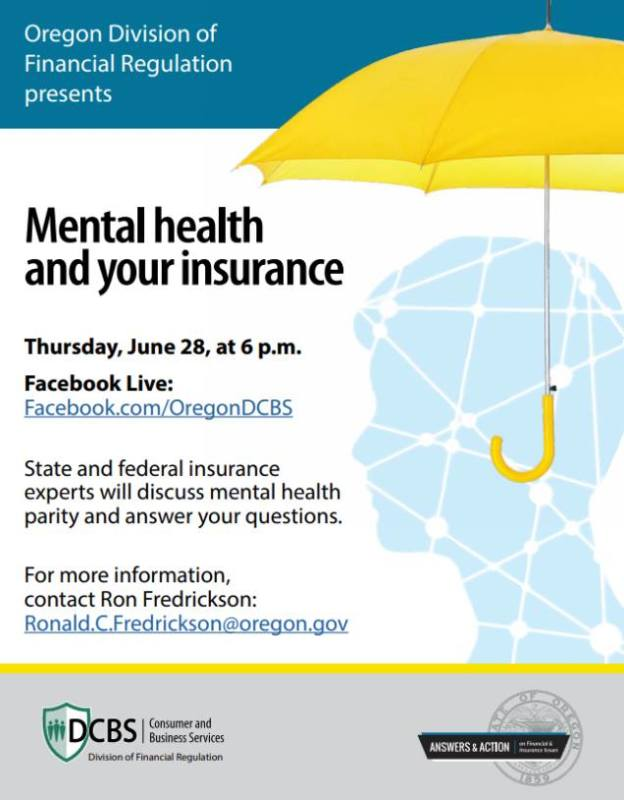 Event: Mental Health and Your Insurance