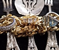Jewelry and Silver Flatware