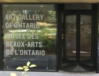 Boon Edam Revolving Door at Art Gallery of Ontario
