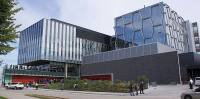 Automatic Operators and Sliding doors help efficiency and traffic flow for students, staff and professors at Quantum-Nano Centre (QNC) University of Waterloo