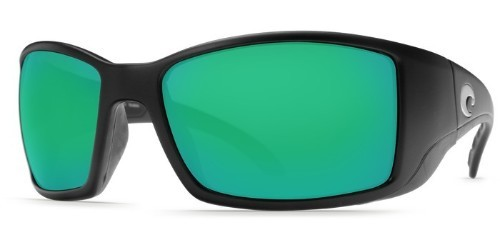 costa-lentes-blackfin black mate green